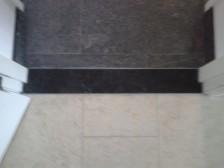 belgisch hardsteen donker gezoet vlakke deurdorpel