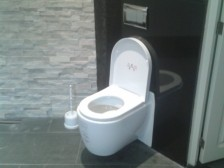 nero assoluto gepolijst wc achterwand