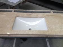 laperto gepolijst wastafel met onderbouw wasbak