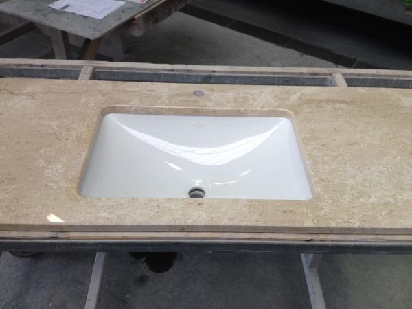 laperto gepolijst wastafel met onderbouw wasbak  Natuursteenmarktplaats # Wasbak Montage_202843